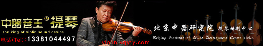 中器音王提琴(The king of violin sound device)、咨询热线(hotline):4006751945、010-63369114、violin.yqyjy.com